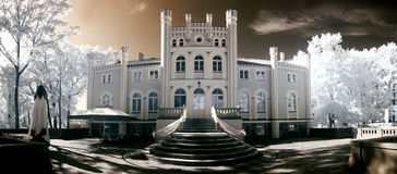 Palace in Drzeczkowo Royalty Free Stock Images