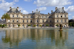 Palace du Luxembourg in Paris Stock Photos