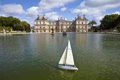 Palace du Luxembourg in Paris Stock Photography