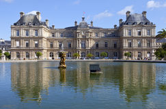 Palace du Luxembourg in Paris Stock Photo