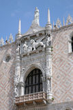 Palace Ducal - detail lion, Venice Stock Photo