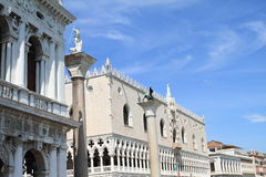Palace Ducale on Piazza di San Marco Royalty Free Stock Photography