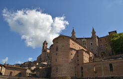 Palace Ducale in Urbino Royalty Free Stock Photo