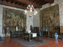 Palace of the Dukes of Bragança, Portugal Stock Photos