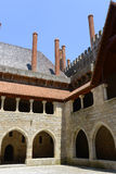 Palace of the Dukes of Braganza, Guimarães, Portugal Royalty Free Stock Images
