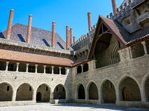 Ducal Palace of Braganca in Guimaraes Stock Images