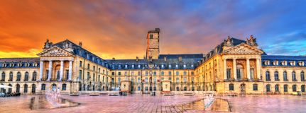 Palace of the Dukes of Burgundy in Dijon, France. Palace of the Dukes of Burgundy, currently the city hall of Dijon, France royalty free stock photos
