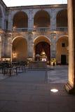 Palace of the Dukes of Feria, today the Parador de Zafra, Spain Stock Photography
