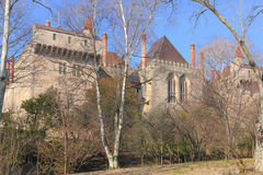 Palace of the Duques of Braganca. Guimaraes. Portugal Royalty Free Stock Photo