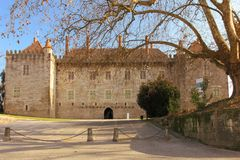 Palace of the Duques of Braganca. Guimaraes. Portugal Stock Images