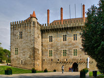Palace of Duques de Braganca Stock Image