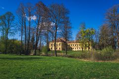Palace in Eckartsau Royalty Free Stock Image
