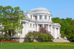 Palace on Elagin Island in the spring Stock Photos