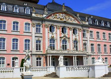 Palace of the Elector. In Trier. Germany stock images