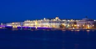 Palace embankment, St. Petersburg, Russia Stock Image