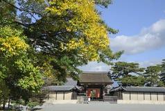 Palace Entrance Gate Kyoto Stock Photography