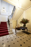 Palace entrance and marble stairway Royalty Free Stock Photos