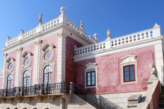 Palace of Estoi, a work of Romantic architecture unique in Royalty Free Stock Images