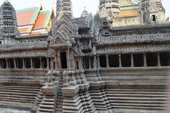 PALACE EXTERIOR IN曼谷泰国国王 免版税库存照片