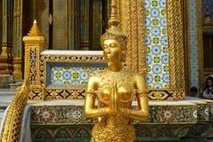 PALACE EXTERIOR IN曼谷泰国国王 免版税图库摄影