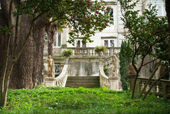 Palace facade and stairs Stock Image