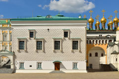 Palace of Facets 1492, Moscow Kremlin. Russia stock photography