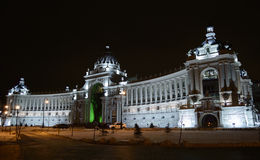 Palace of farmers, Kazan, Russia. Nightly Stock Images