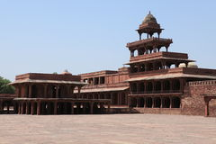Palace of Fatehpur in India Stock Photography