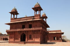Palace of Fatehpur in India Stock Images