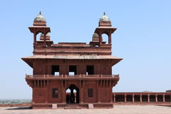 Palace of Fatehpur in India Royalty Free Stock Images