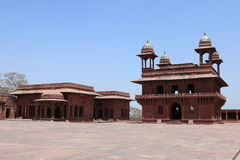 Palace of Fatehpur in India Stock Photo
