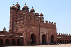 Palace of Fatehpur in India Royalty Free Stock Photos