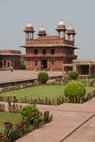 Palace in Fatehpur Sikri Stock Photography