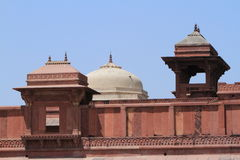 Palace of Fatehpur Sikri of Jaipur in India Royalty Free Stock Photography