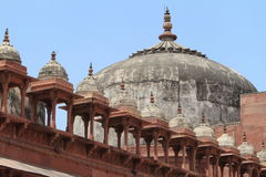 Palace of Fatehpur Sikri of Jaipur in India Stock Photos