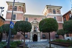 Palace Favio Nelli Valladolid Royalty Free Stock Photography