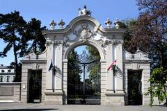 Palace of Festetics in Keszthely Stock Image