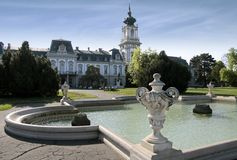 Palace of Festetics in Keszthely Royalty Free Stock Photography