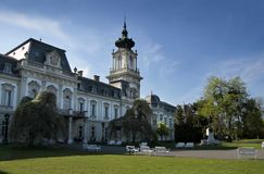 Palace of Festetics in Keszthely Stock Photos