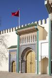 Palace in Fez in Marocco Royalty Free Stock Photo