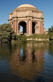 The Palace of Fine Arts Stock Images