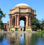Palace of fine arts. The Palace of Fine Arts in the Marina District of San Francisco, California, is a monumental structure stock photo