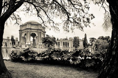 Palace of Fine Arts Stock Photo