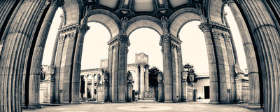 Palace of Fine Arts Stock Photography