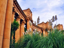 The Palace of Fine Arts Stock Photo
