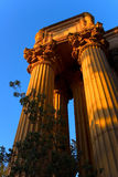 The Palace of Fine Arts Royalty Free Stock Photography