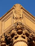 Palace of Fine Arts. Details from Palace of Fine Arts-SF Royalty Free Stock Photography