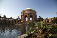 The Palace of Fine Arts Royalty Free Stock Photo