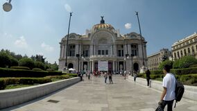 Palace of fine arts, considered the most important lyric theater in Mexico