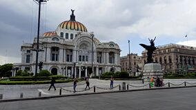 The Palace of Fine Arts, an emblematic place in Mexico City